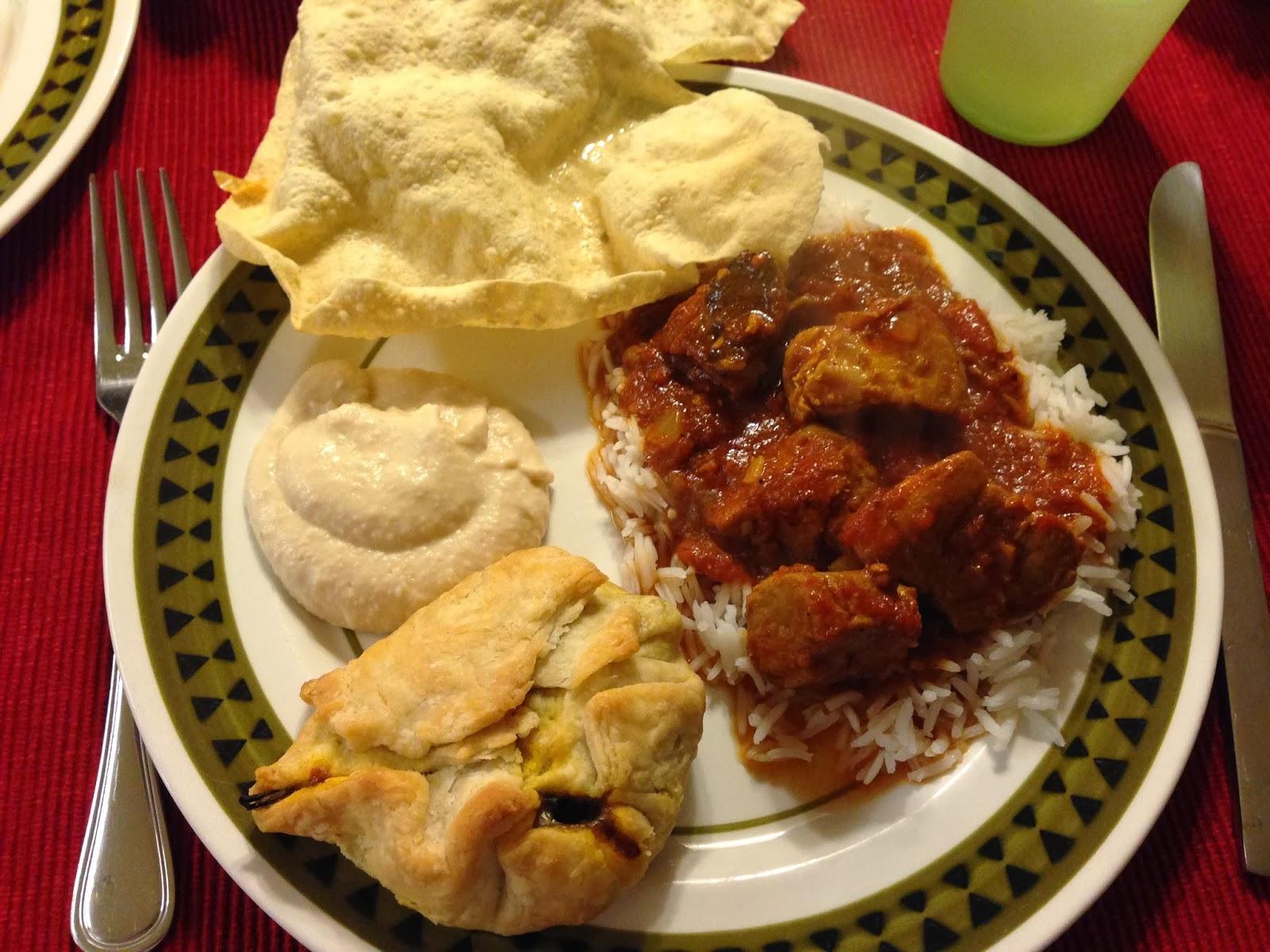 Supper Sunday: Curried Pork Stew with Samosas