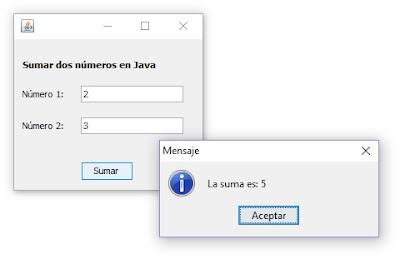 sumar restar multiplicar y dividir en Java