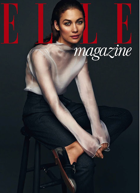 Actress, Model, @ Olga Kurylenko - Elle Spain, July 2016