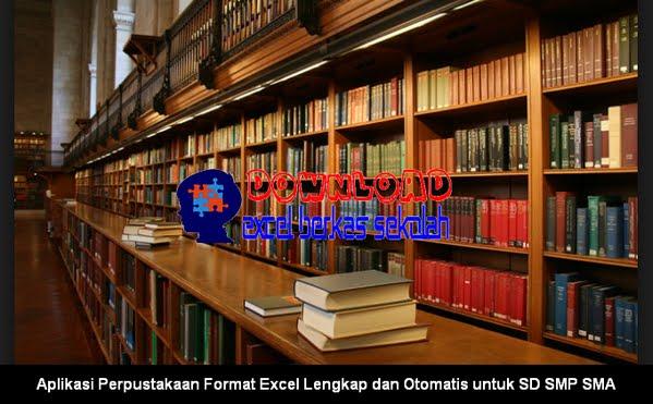 Aplikasi Perpustakaan Format Excel