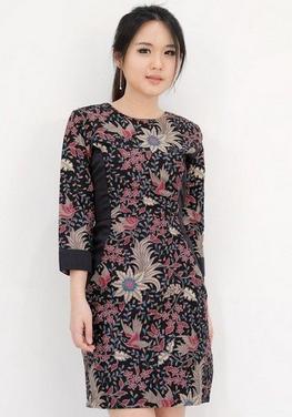 model baju batik terbaru untuk ibu-ibu