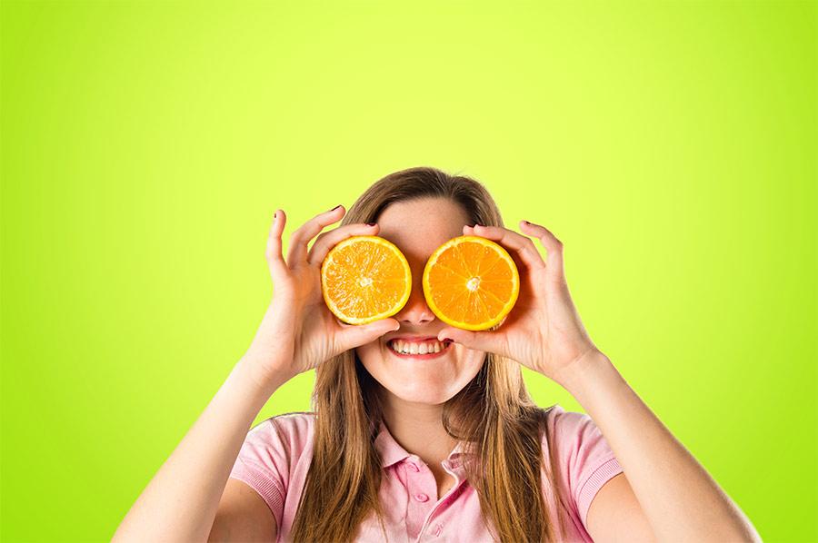 أغذية لتقوية النظر  Foods-for-eyes