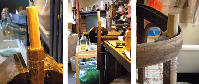 Sferruzz co casa madre sedia riverniciata e rifoderata - Sostituire seduta sedia ...
