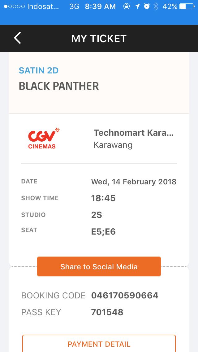 Mudahnya Beli Tiket Nonton Bioskop Di Apps Traveloka Hendri Setiawan