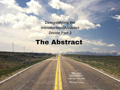 Demystifying the Abstract Introduction divide: The Abstract