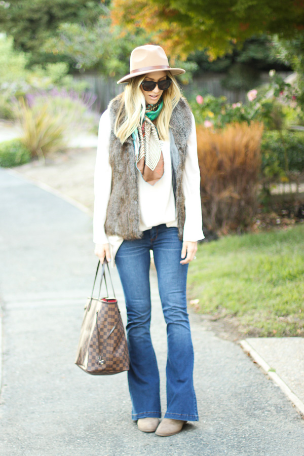 the best flare jeans for fall parlor girl