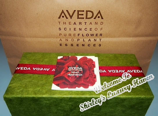aveda damage remedy repair christmas gift set