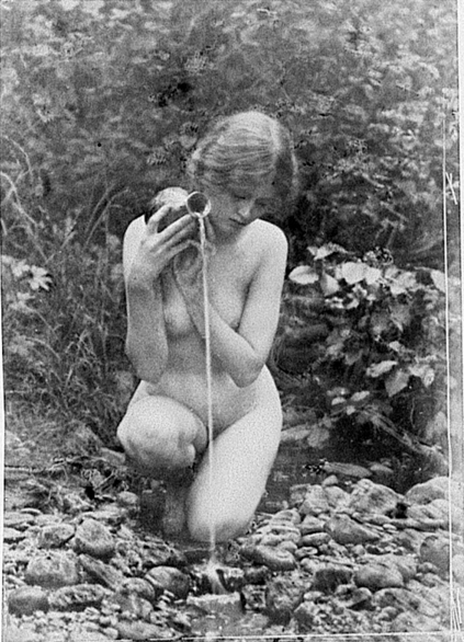 Anne Brigman - The Source - 1907