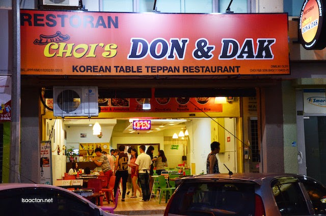 Choi's Don & Dak Korean Table Teppan BBQ Restaurant @ Kuchai Entrepreneur Park Old Klang Road