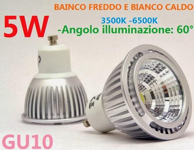 Lampadina led gu luce fredda il fantastico lampadine g led