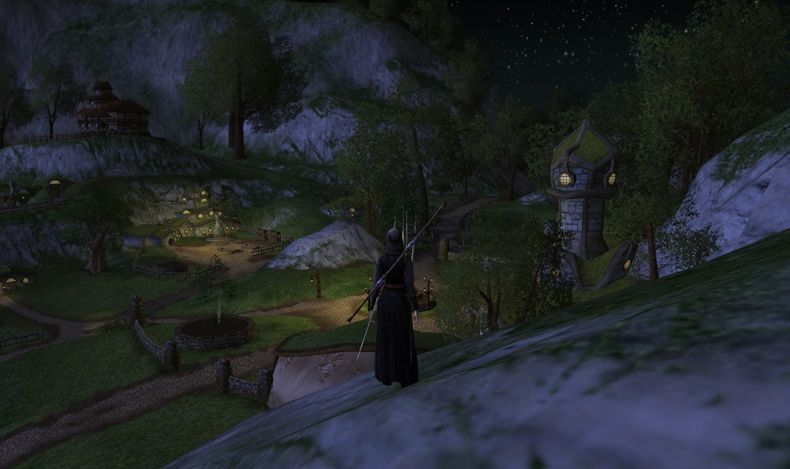 Delving In Monochrome Interior Design: Wonderful Places In LOTRO's Middle Earth: Off Map Places