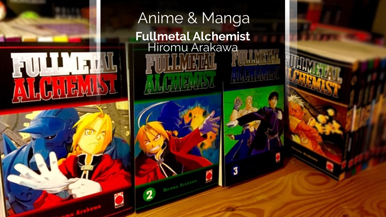 Rezension/Review zum Manga Fullmetal Alchemist (Planet Manga)