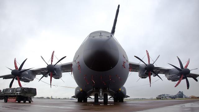 Airbus A400M Atlas of Royal Air Force