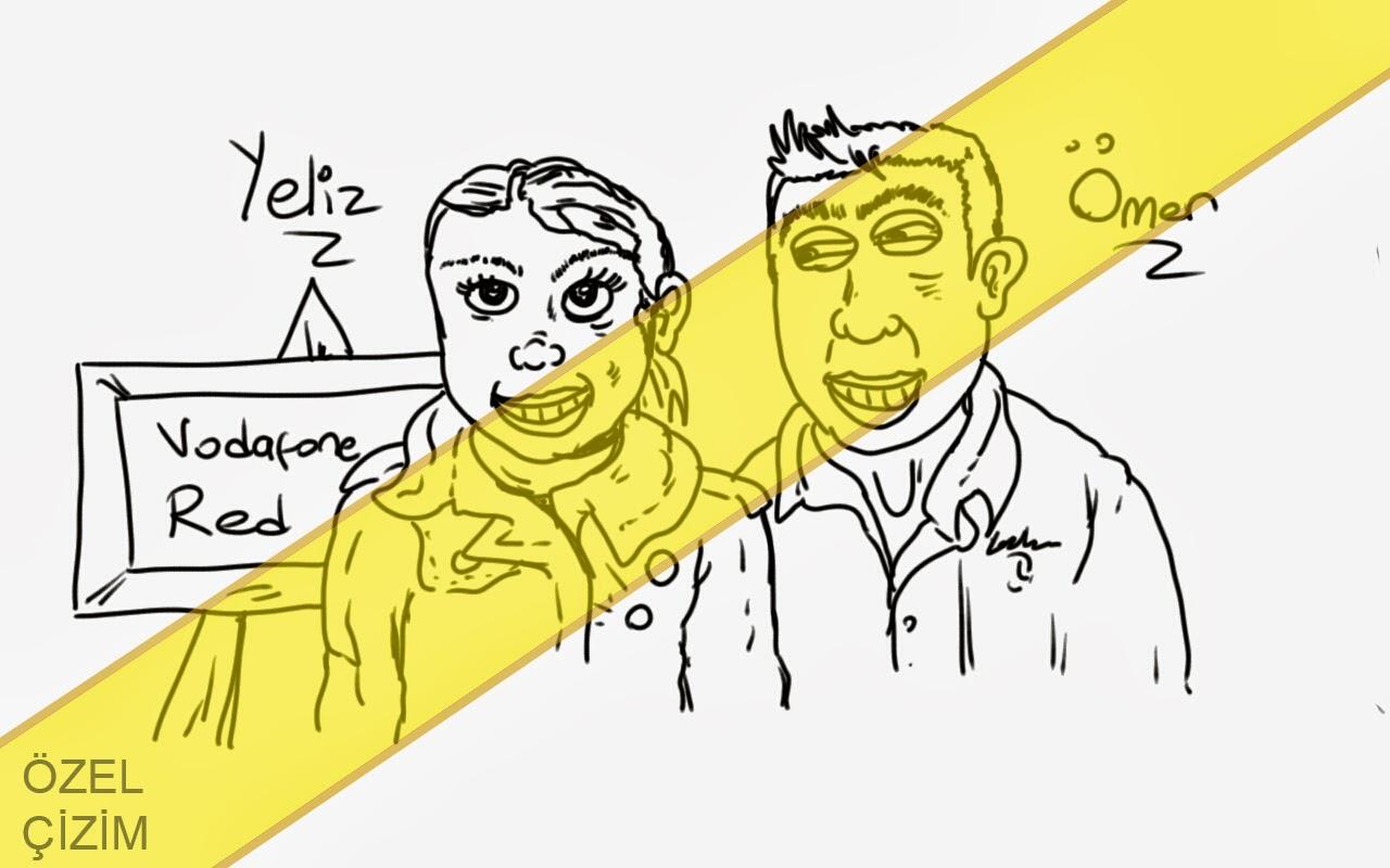 Karikatür Çizimleri, Karikatür Çizdir, etkinlik, standa gelenlere çizim, ziyaretçilerin karikatürleri, karikatür, Vodafone Red, karikatür portre, etkinlik çizimleri, İllustrasyon, Özel Çizim,