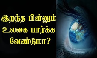 Donate Your Eyes | Eye Donation Awareness Video | IBC Tamil