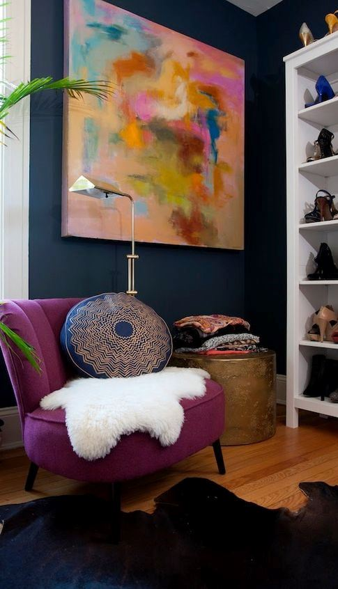 Modern Interior Design Ideas amongst Purple Color x Gorgeous Purple Paint Colors to Use In Your Home