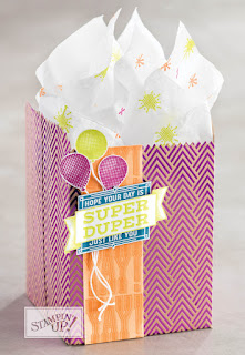 Stampin' Up! Super Duper Birthday Gift Bag