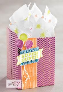 Stampin' Up! Super Duper Birthday Gift Bag
