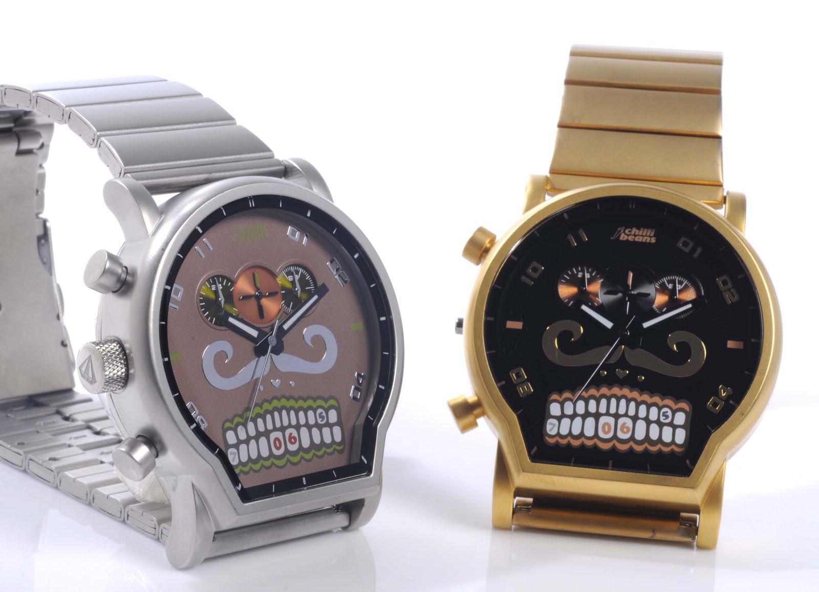 """7ac61b095 Ossos """"da hora""""! Chilli Beans lança nova coleção de relógios ..."""