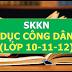 Sáng kiến kinh nghiệm môn Giáo dục công dân cấp THPT (SKKN môn Giáo dục công dân lớp 10, 11, 12)