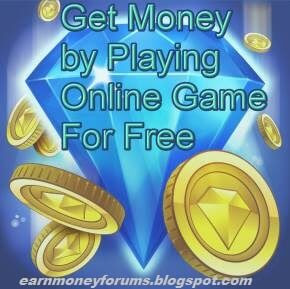 Win money online by playing games