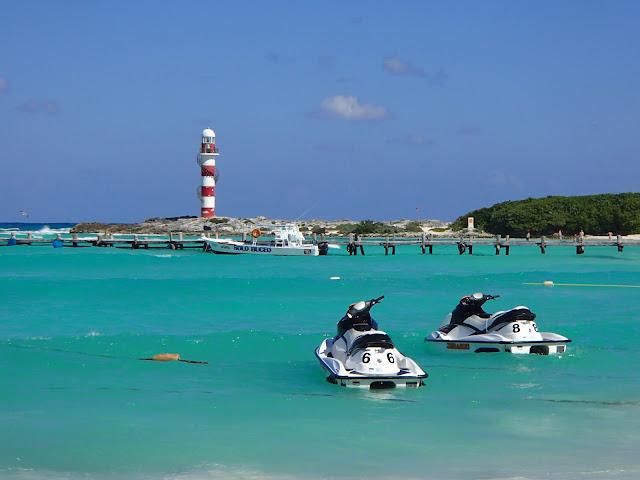Punta Cancun lighthouse
