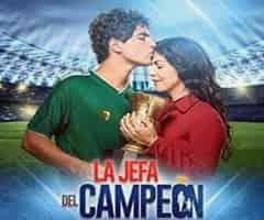 capítulo 60 - telenovela - la jefa del campeon  - las estrellas