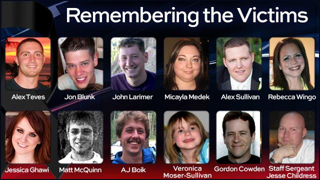Remembering The Heroes, The Victims Of The Aurora Shooting