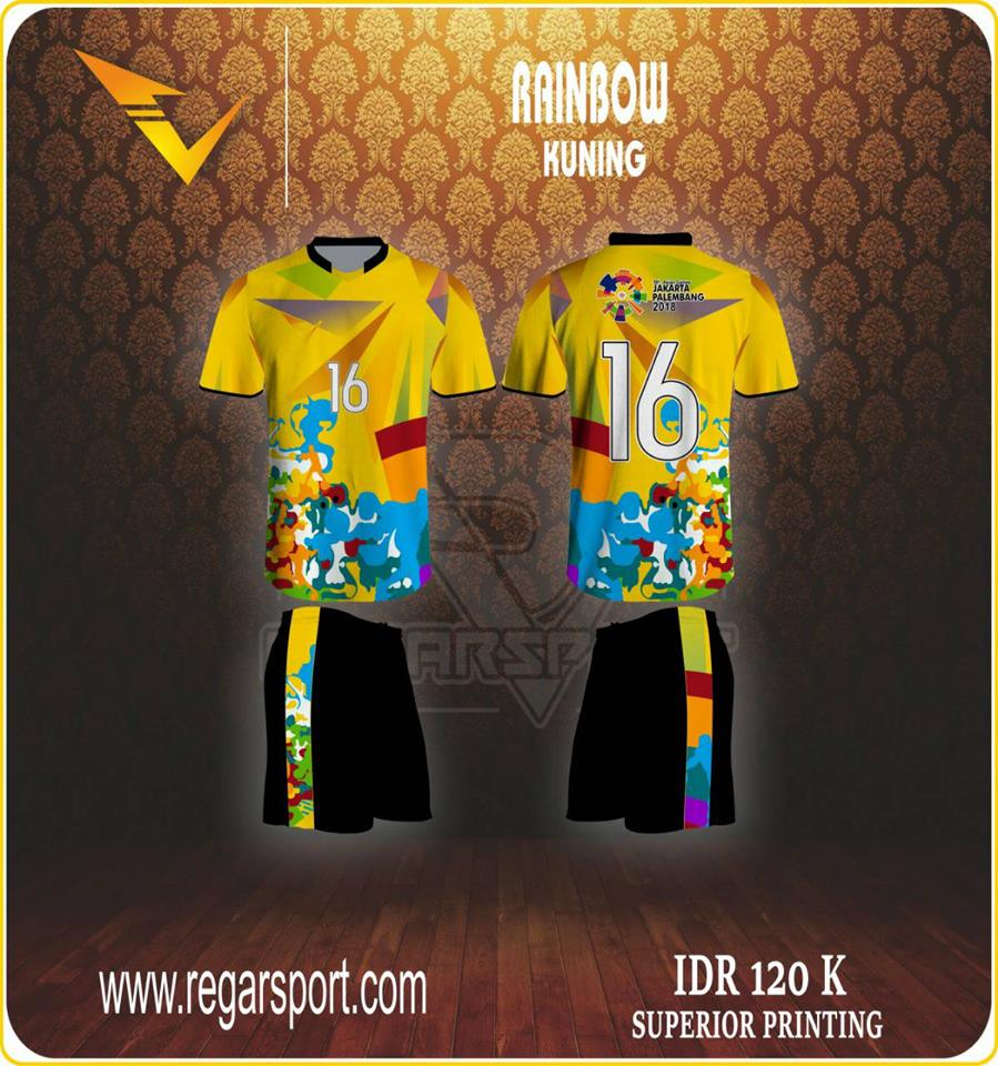 FRESH DESIGN VOLLEY MOTIF RAINBOW Regar Sport Online Dan