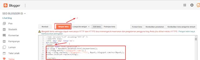 Cara Agar Alamat Blog Tetap Blogspot.com