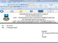 Download Aplikasi Amplop Surat Cetak Otomatis Full Gratis