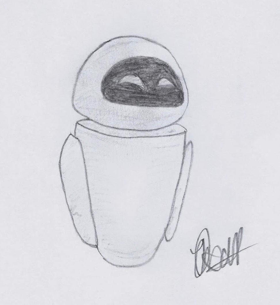 迪士尼插画研究:《瓦力》中的EVE, www.JoLinsdell.com