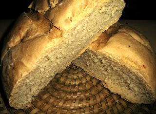 pane toscano fatto in casa ricetta