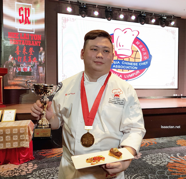 Chef Yip Gian Ding is a committee representative from Chinese Chef Association of Kuala Lumpur, Malaysia.