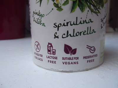 spirulina a chlorella smoothie