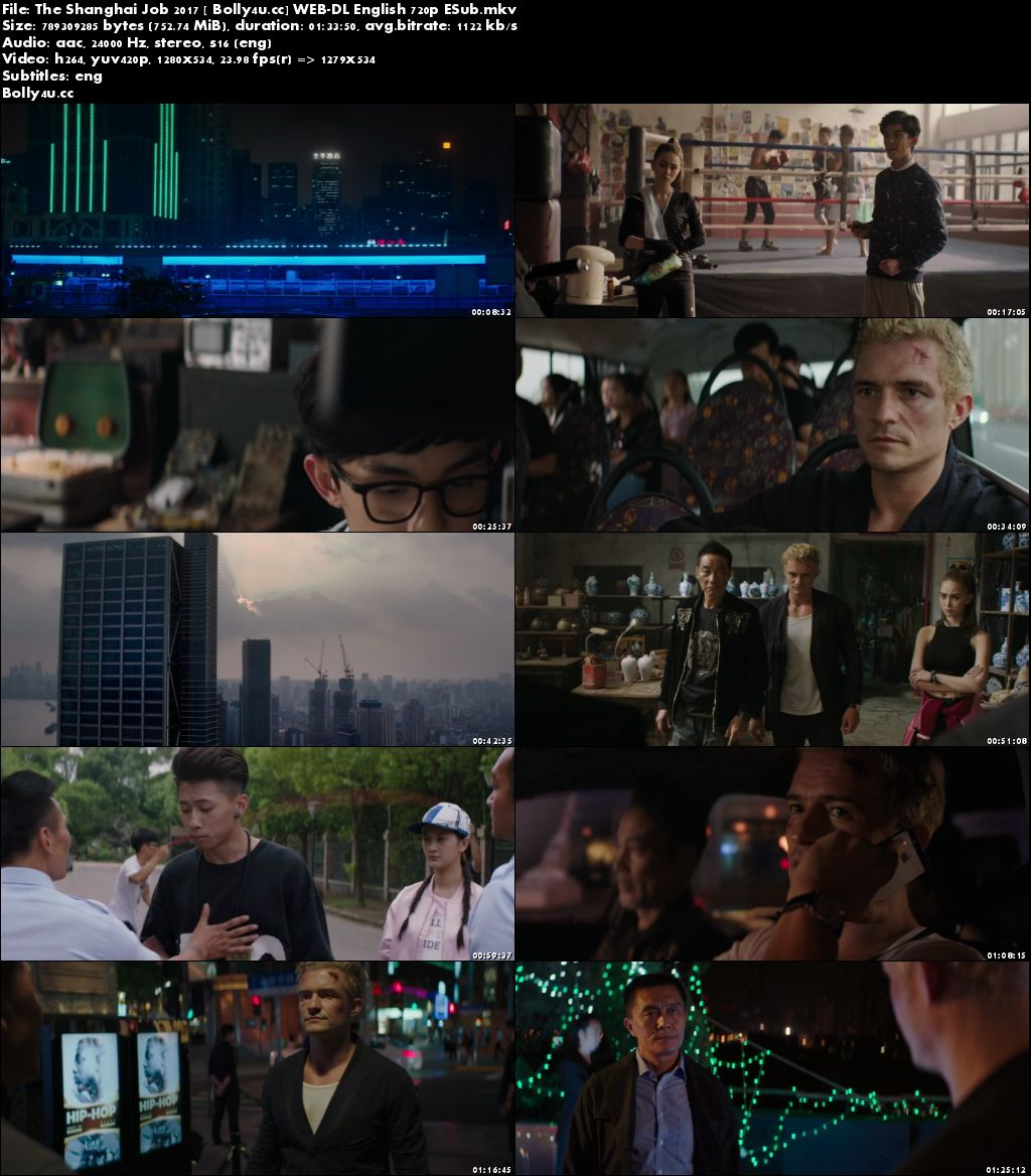 The Shanghai Job 2017 WEB-DL 300MB English 480p ESub Download