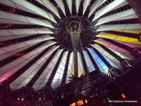 Cúpula del Sony Center de Berlín