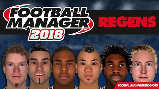 Football Manager 2018 Regens