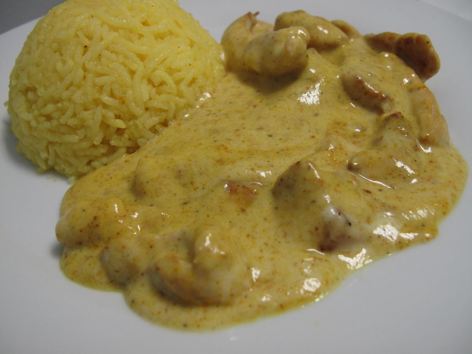 Blanc De Poulet Au Curry Steadlane Club