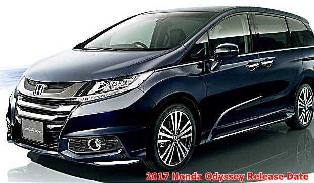 2017 honda odyssey release date. Black Bedroom Furniture Sets. Home Design Ideas