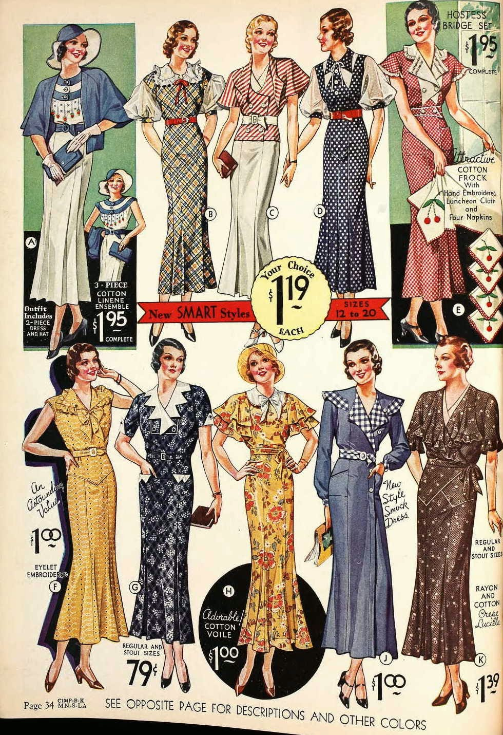 Snapped Garters: Dress Of The Century: 1930-1939