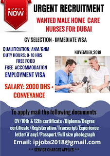 Wanted Nurse Dubai