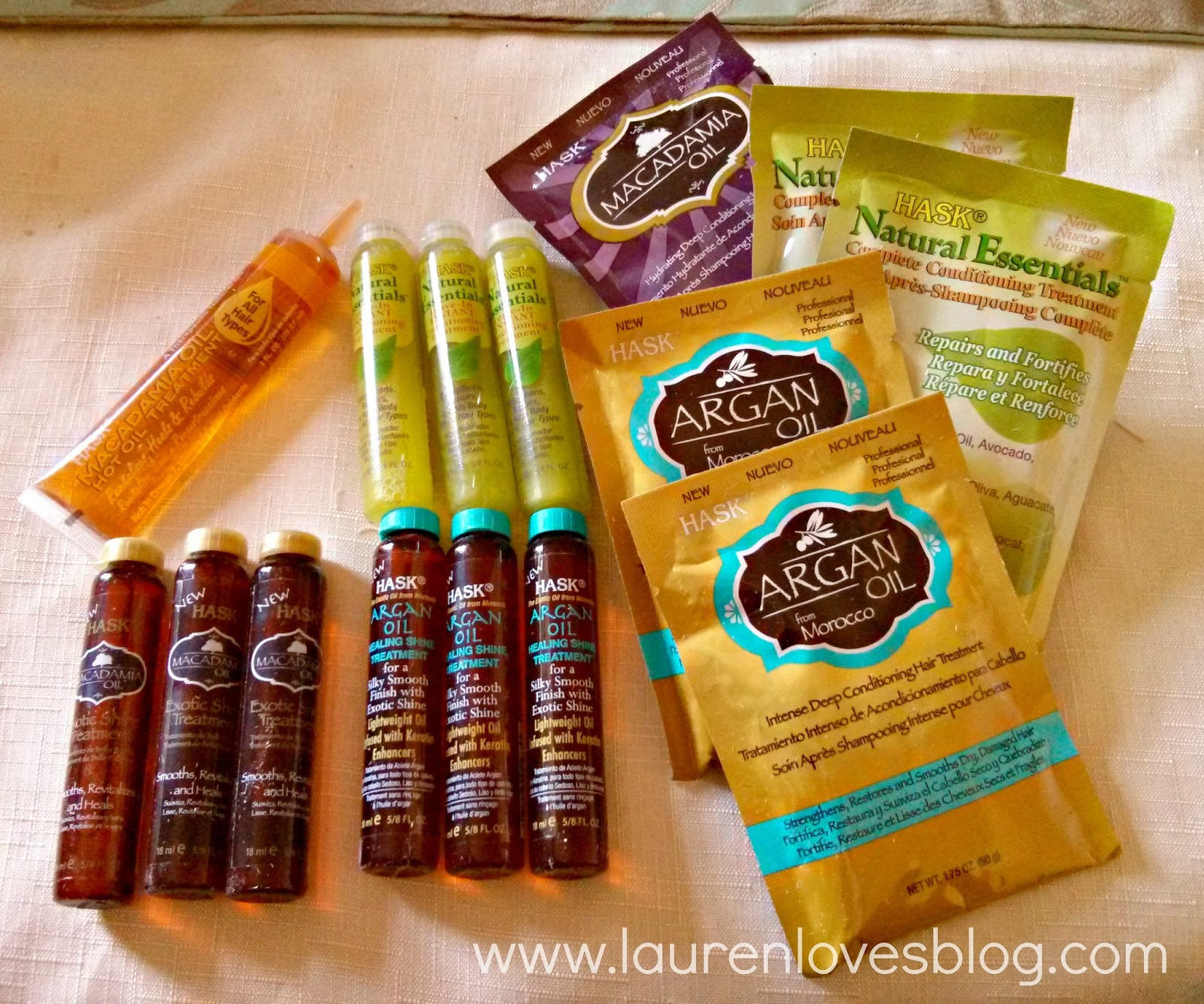 Beauty Products Primark: Review: Hask Hair Products