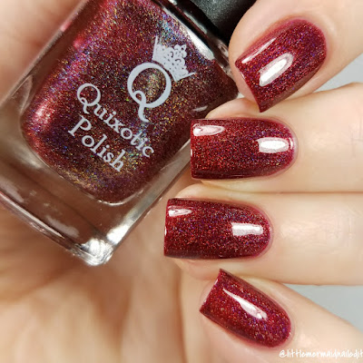 Quixotic Polish Ring In The True! New Years Duo Swatches and Review