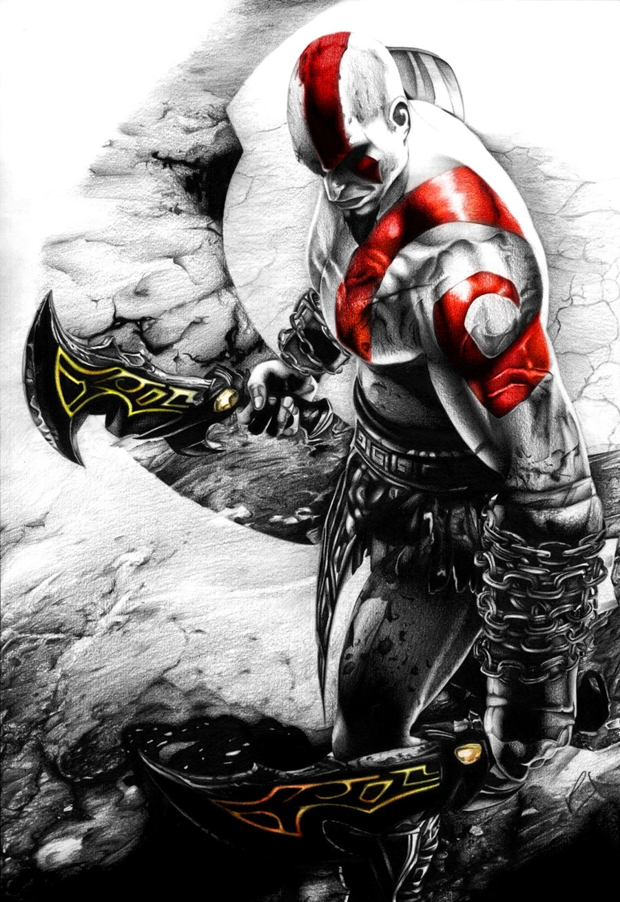 Gamers Zone: God Of War Series Wallpaper Archive
