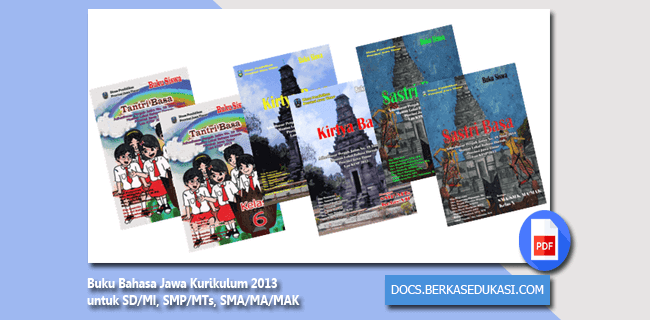 Buku Bahasa Jawa K13 SD-MI SMP-MTs SMA-MA-MAK