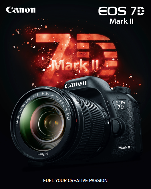 Download the new Canon EOS 7D Mark II DSLR PDF Product Brochure.