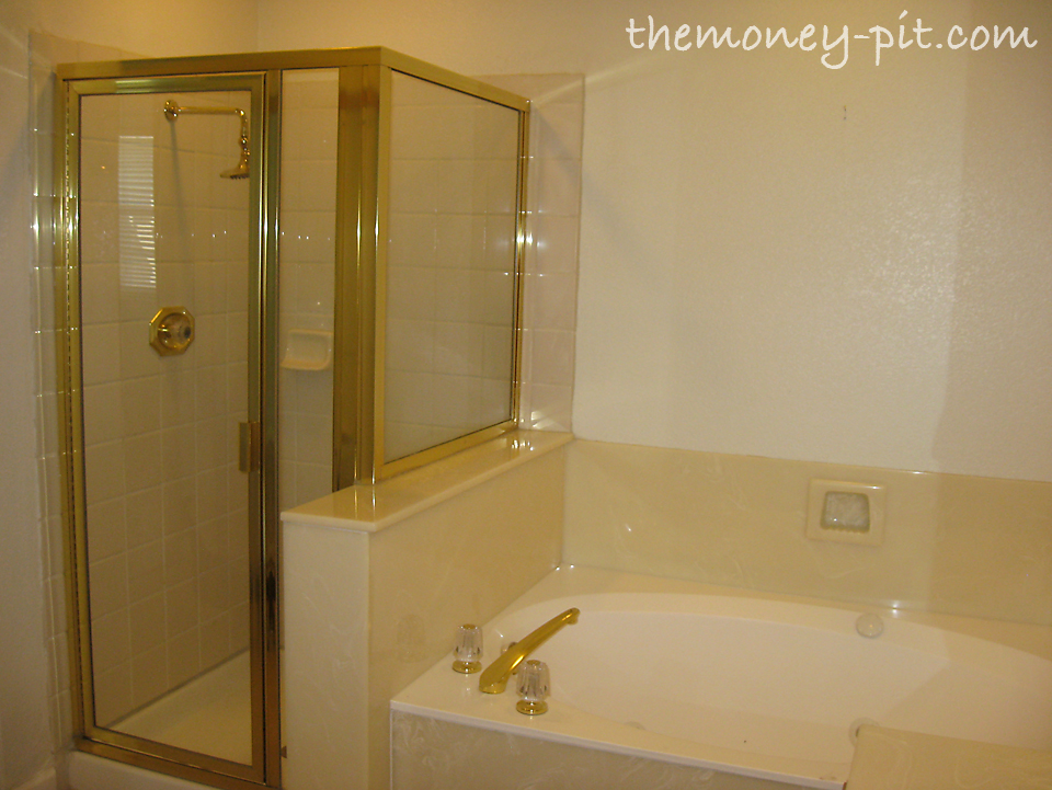 My Home Tour A Year After Moving In The Kim Six Fix - Bathroom remodel remove tub