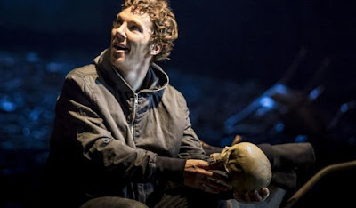 Benedict Cumberbatch as Hamlet in National Theatre London
