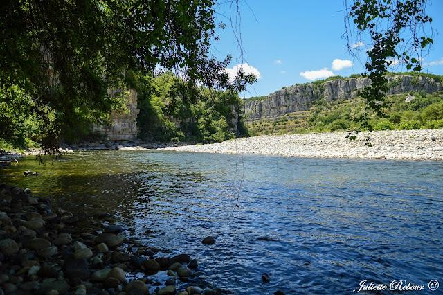 Pique-nique en Ardèche